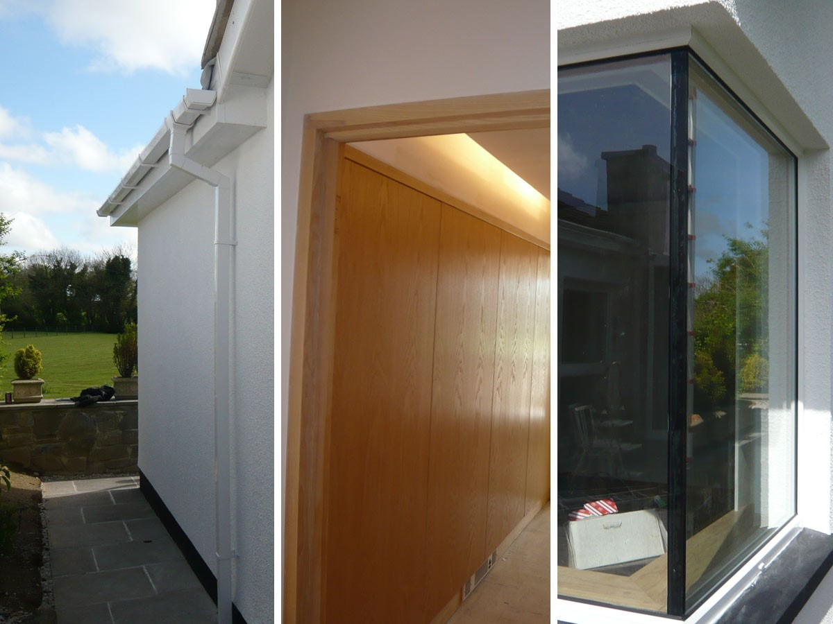 Bedroom extension montage